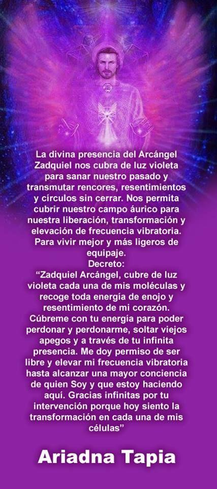 Arcangel Zadquiel-Decreto