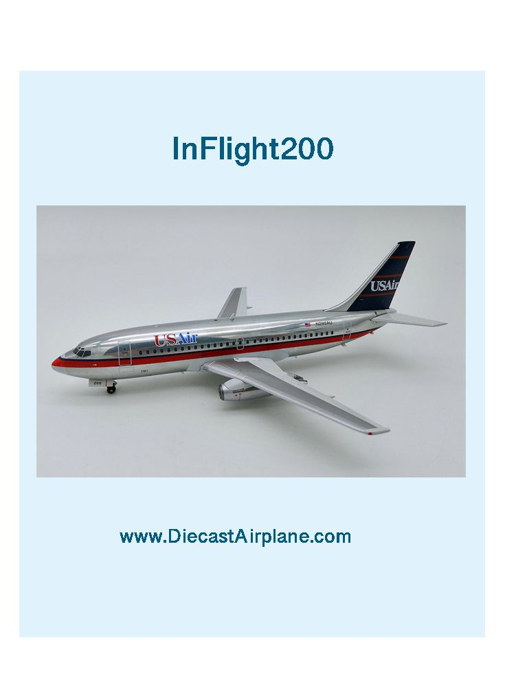 US Air Boeing 737-200 N286AU Polished (1:200) | InFlight200 Model