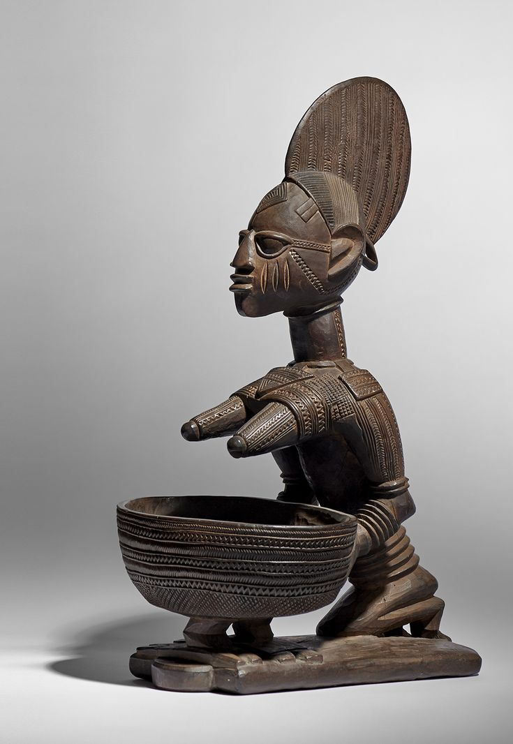 Yoruba Offering Bowl Provenance Buenzli Family Collection