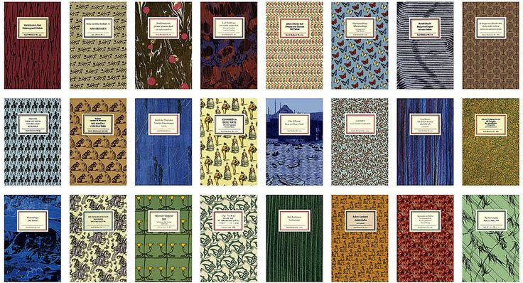 The Insel-Bücherei collection. 1912 Designer: Anton Kippenberg (1874-1950) Gotthard de Beauclair (1907-1992)