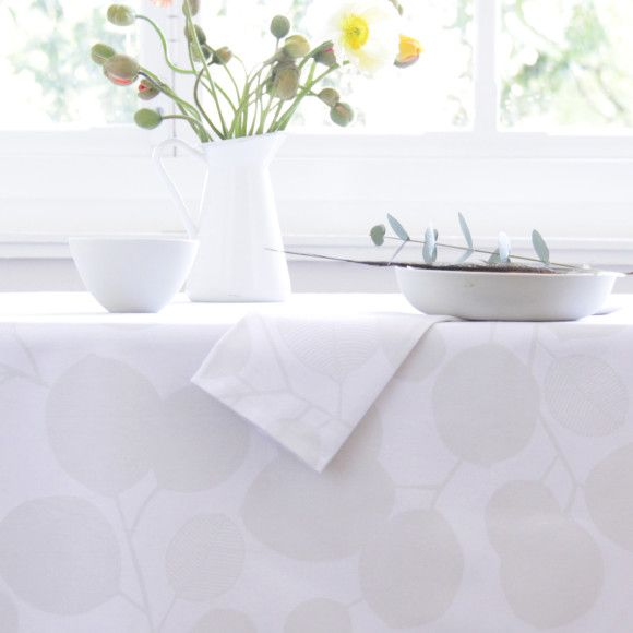 Our matte finish oilcloth is super smooth and non reflective, it looks just as…