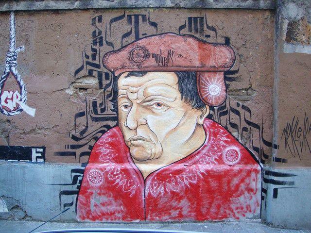 StreetArt Rome - MrKlevra - Thomas Muntzer via dei Sabelli - San Lorenzo