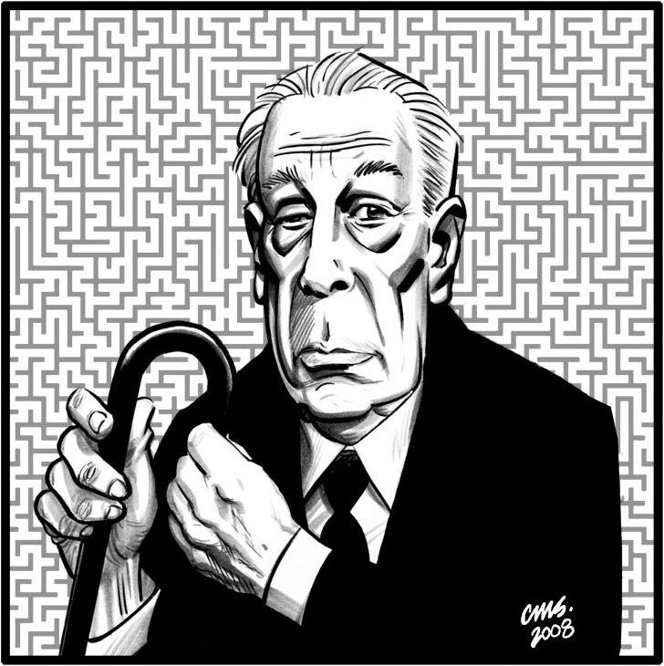 Jorge Luis Borges y su laberinto.