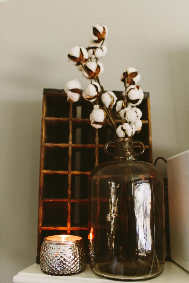 Home decor with Bridgewater Candle. Holiday candle collection