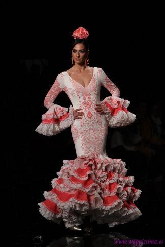 Traje de Flamenca - Abanico - Simof-2015