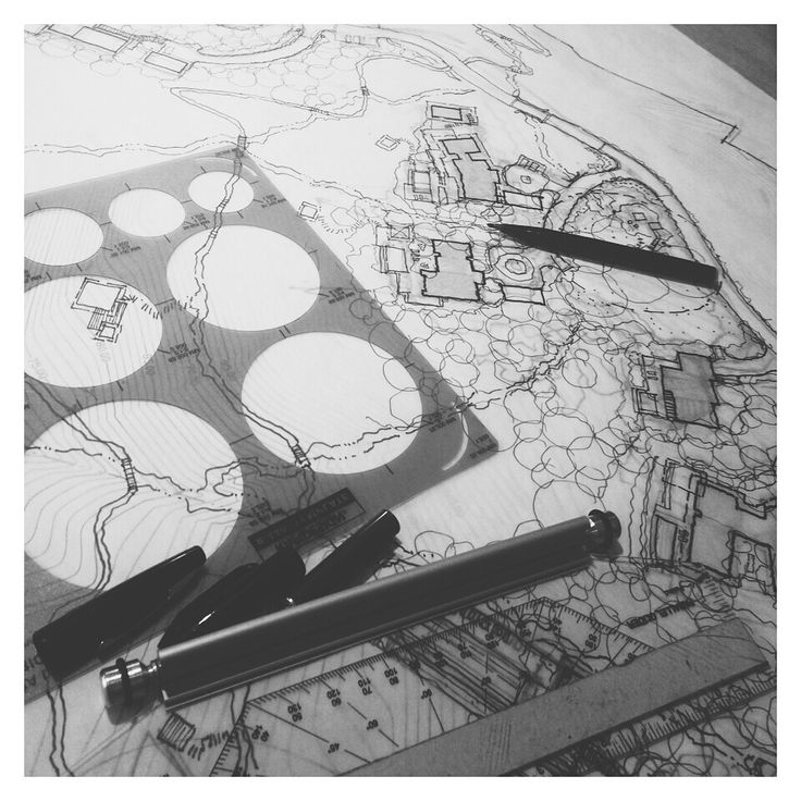 Architecture Drawing Hand 87 best landscape rendering images on pinterest | landscaping