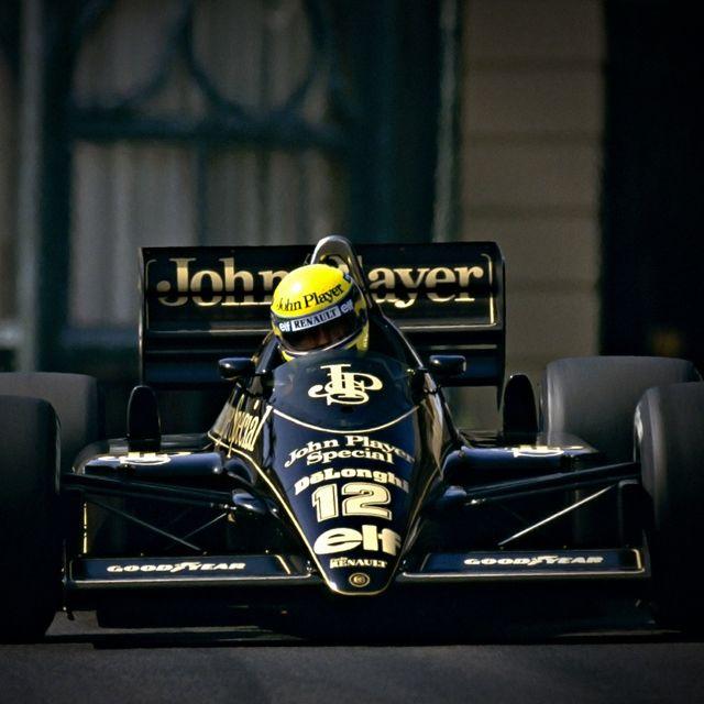 1986 Ayrton Senna , JPS Lotus Renault 98T