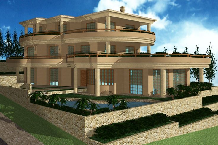Τριώροφη διπλοκατοικία στο Πανόραμα Βούλας | vasdekis