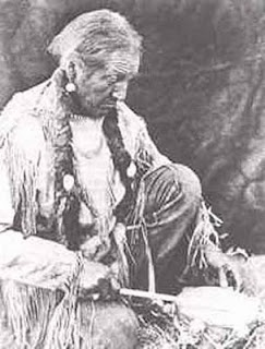 Unknown Shaman drumming. Shaman - (esp. among certain tribal peoples) a person who acts as intermediary between the natural and supernatural worlds, using magic to cure illness, foretell the future, control spiritual forces, etc.