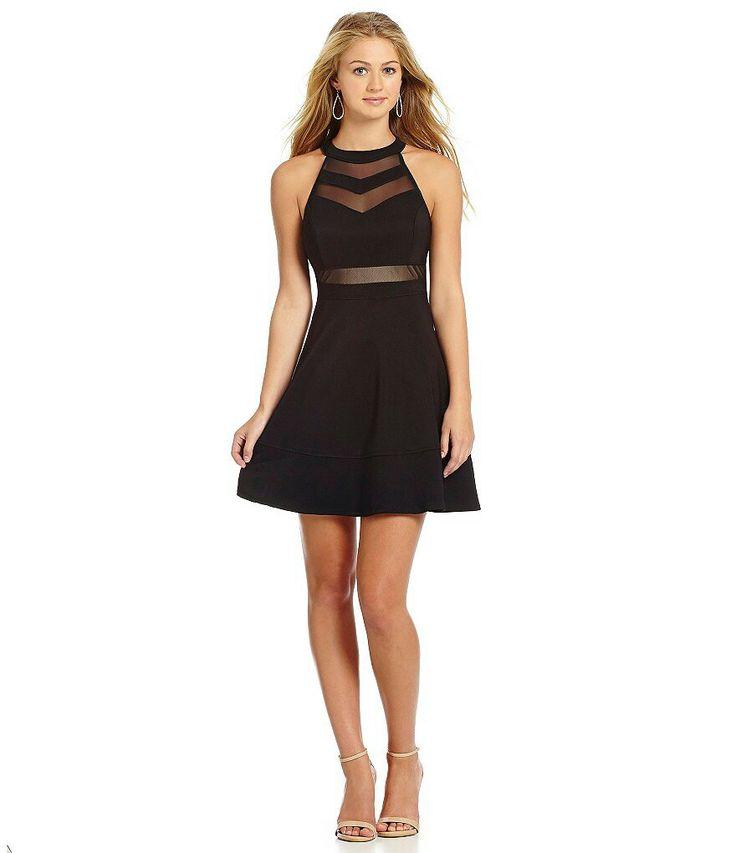 Super cute black graduation dress