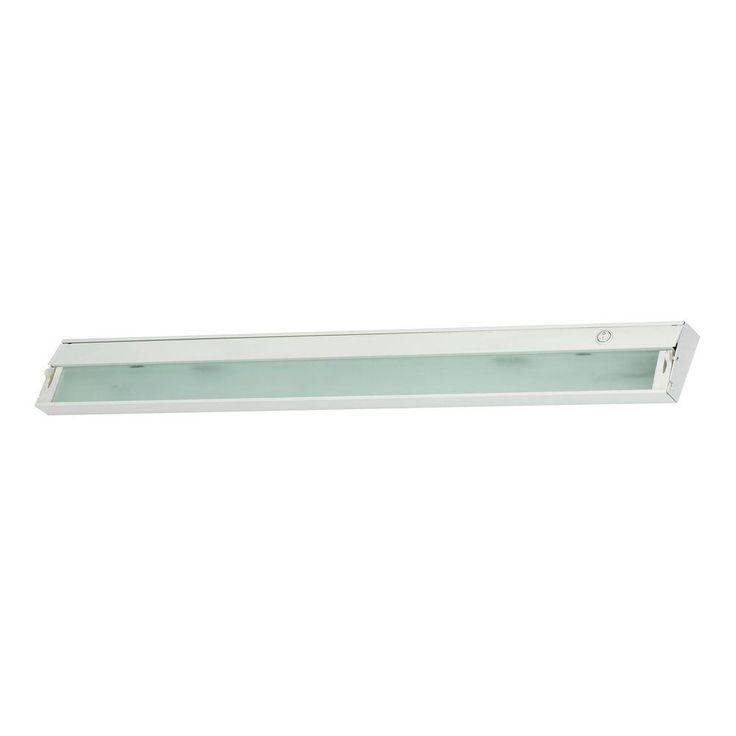 Titan Lighting Zeeline 6-Lamp Xenon White Under Cabinet Light with Diffused Glass