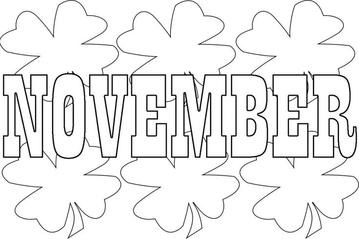 Best November Coloring Pages For Preschoolers,Toddlers ...