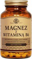 Solgar Magnesium with Vitamin B6 x 100 tablets