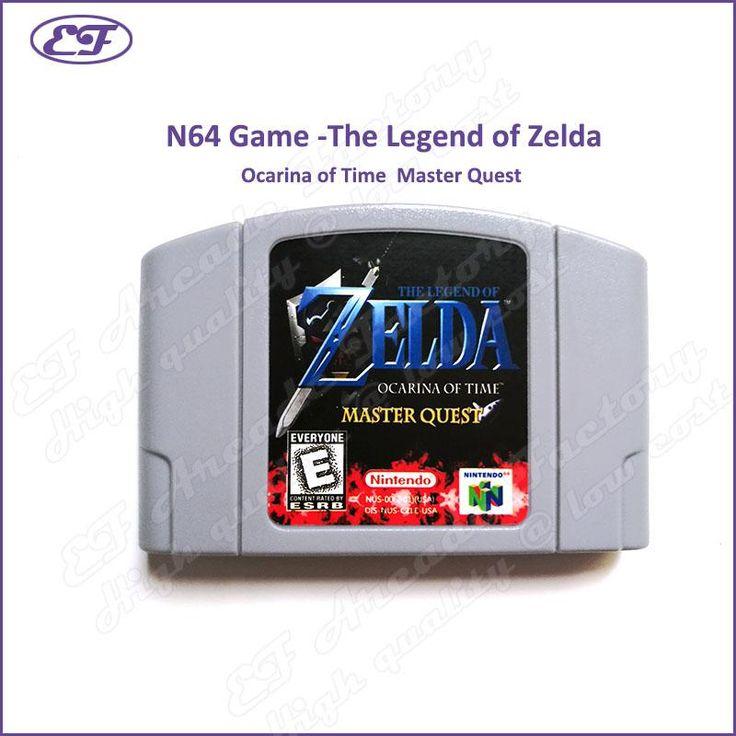 Nintendo 64 N64 game The Legend of Zelda Ocarina of Time Master Quest