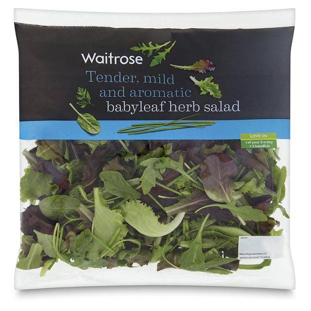 Aromatic Babyleaf Herb Salad Waitrose http://www.ocado.com