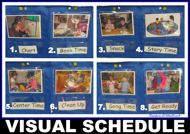 Visual Schedule presented in Photographs for use in Preschool: Early Education, Visual Schedules, Visual Prompts, Visual Support, Pictures Schedule, Daily Routines, Classroom Routines, Kindergarten Schedule, Photo