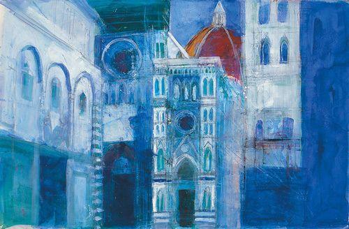 The Duomo, Florence - Anne Oram www.easyart.com