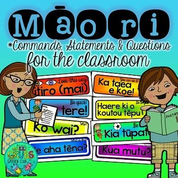 Support+your+use+of+every+day+Te+Reo+in+the+classroom+with+these+handy+prompts!++This+resource+contains+65+useful+classroom+commands,+statements+and+questions+to+get+both+you+and+your+students+incorporating+our+beautiful+Mori+language+throughout+your+daily+routineSimply+cut+out+and+laminate+these+colourful+prompts+before+displaying+in+your+room+or+keeping+near+your+teaching+station+for+quick+and+easy+reference!
