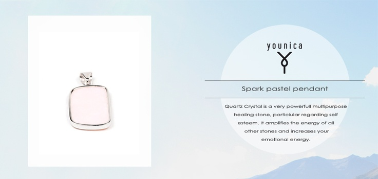 Quartz Spark pendant