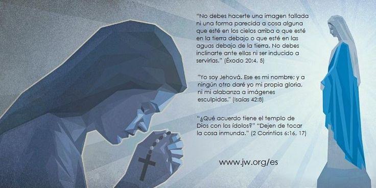 El punto de vista de #Dios sobre Las #Imágenes >>> http://www.jw.org/es/publicaciones/revistas/g201410/venerar-im%C3%A1genes/…