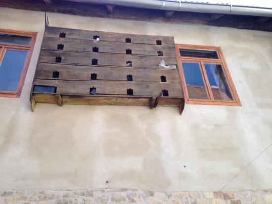 Taubenschlag im Innenhof
