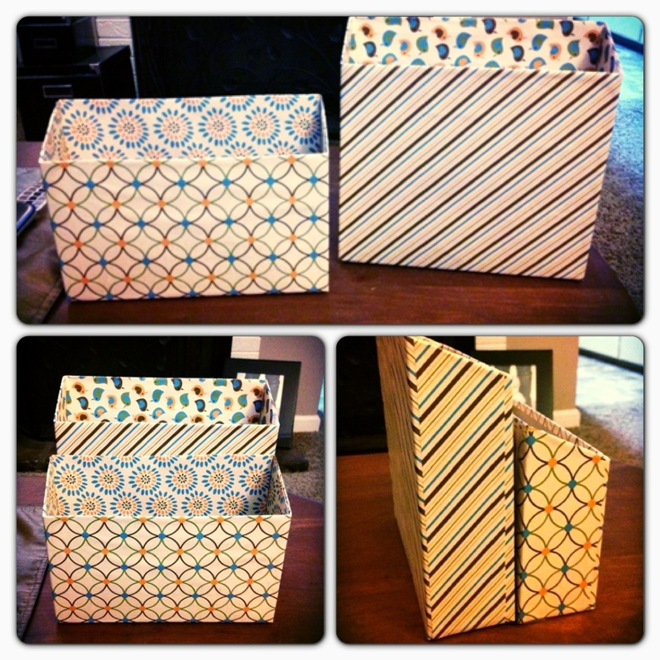 From cereal box to mail organizer diy and stuff for Diy cereal box