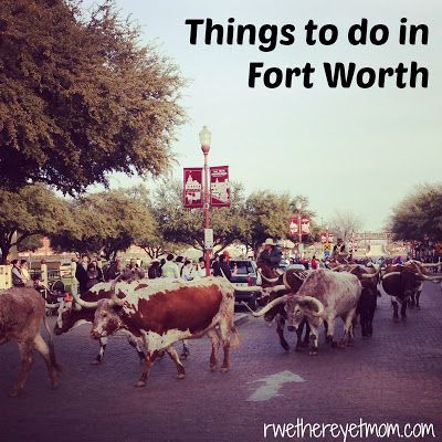 Things to do in Fort Worth, Texas - R We There Yet Mom? | Family Travel for Texas and beyond...