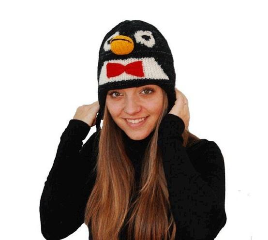Cappello pinguino - so cute!