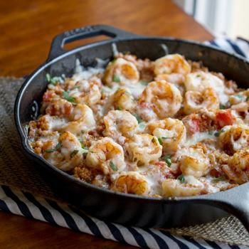 15 minutes of prep and 15 minutes to cook! Cajun Shrimp and Quinoa Casserole is one recipe that the entire family will love.