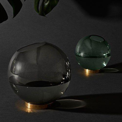 Globe vas - Globe vas - forest green, medium