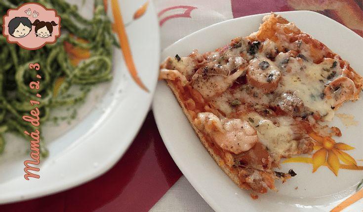 Pizza suprema hecha para tus peques ¡Una delicia casera!