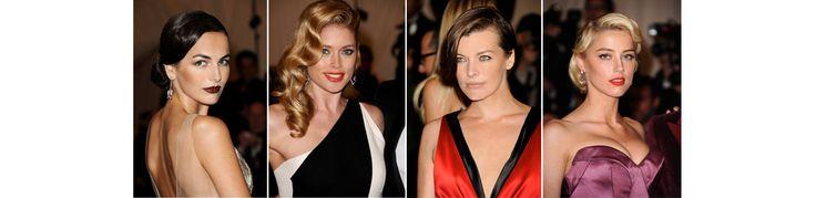 Sur le tapis rouge du Gala du MET Costume Insitute, les coiffures étaient empruntes d'esprit rétro, chic et glamour. Un léger vent rock n'roll s'était invité dans les crinièr