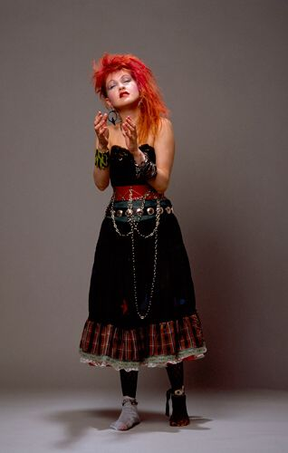 Cyndi Lauper - now there's a look that would be fun to put together
