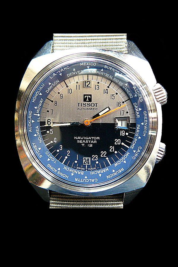Vintage Tissot Navigator Seastar T 12 Chronograph Best Watches For Men Watches For Men Antique Watches