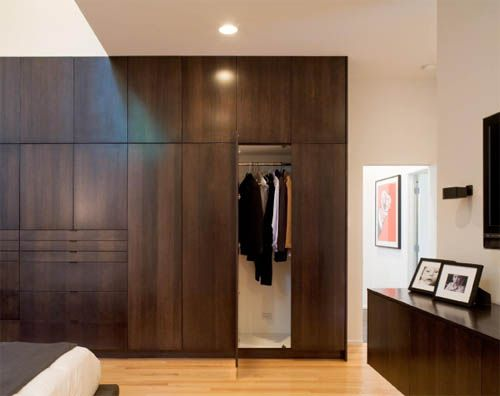 Built in Closet by Hufft