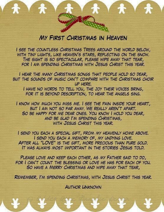 Our first christmas poem merry christmas and happy new year 2018 it negle Images