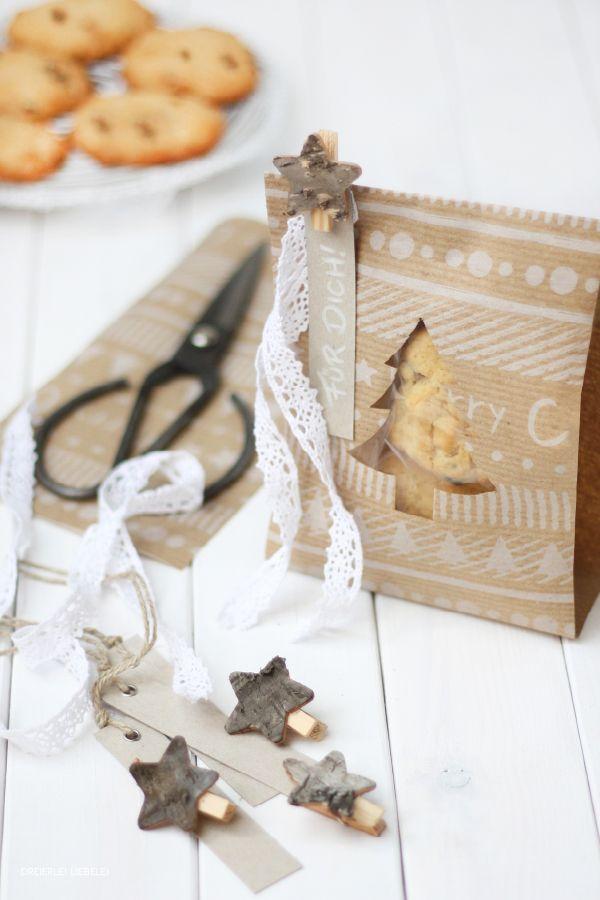 Dreierlei Liebelei: In der Weihnachtsliebelei... Drei Verpackungsideen für Plätzchen