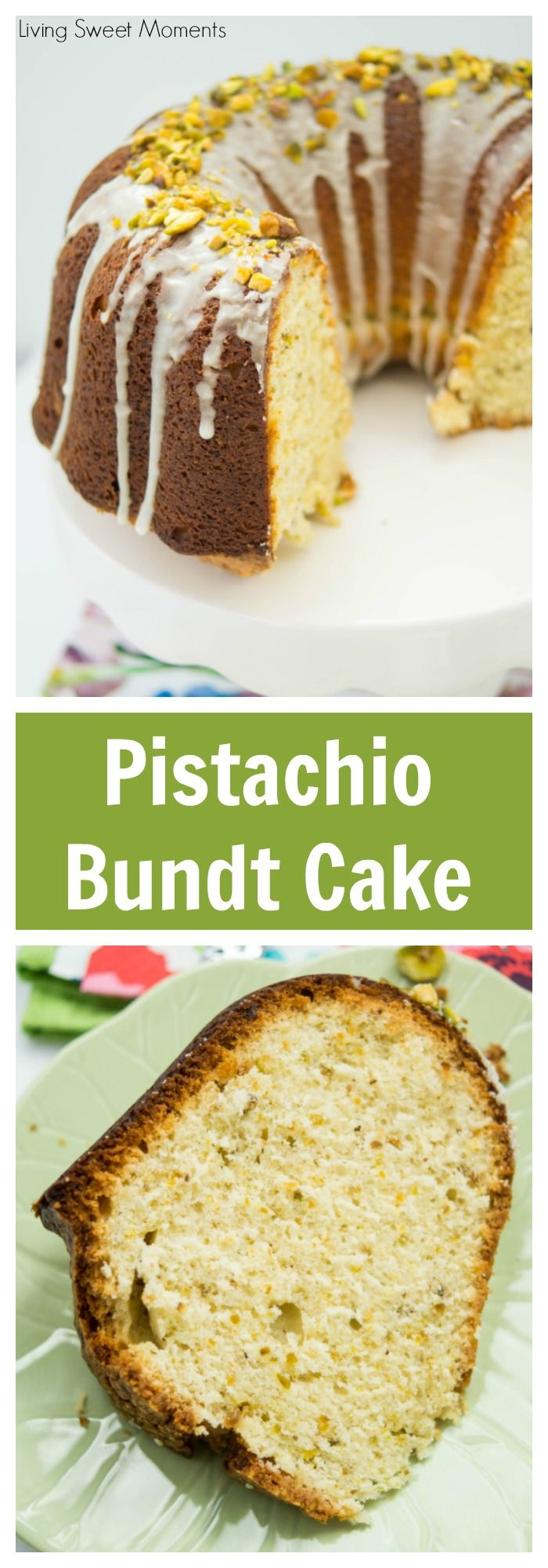 Pistachio bundt cake recipe bundt cakes cakes and on for Easy bundt cake recipes from scratch