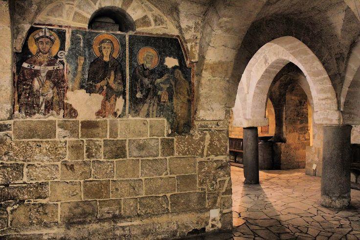 Taranto - Cattedrale di San Cataldo, cripta