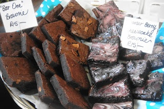 The gorgeous La Petite Moo brownies- find the at the City Bowl Market
