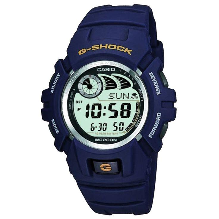 Mens Casio G-Shock blue digital watch G-2900F-2VER