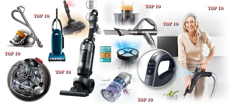 Image showing a set of different vacuum Cleaners