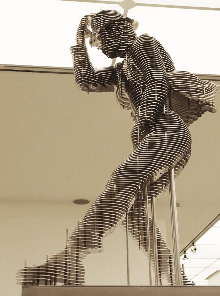 ★ ✯✦⊱ ❤️ ⊰✦✯ ★ Sliced Steel  Nut Sculptures by Park Chan-girl ★ ✯✦⊱ ❤️ ⊰✦✯ ★ #FredericClad