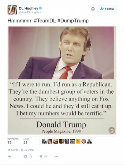 Donald Trump quote More