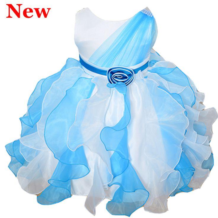 Blue dress picture kid