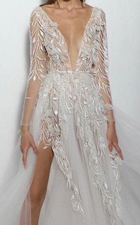 Gaychun 3dflower Leaf Wedding Embroidery Lace Fabric Wedding Dress