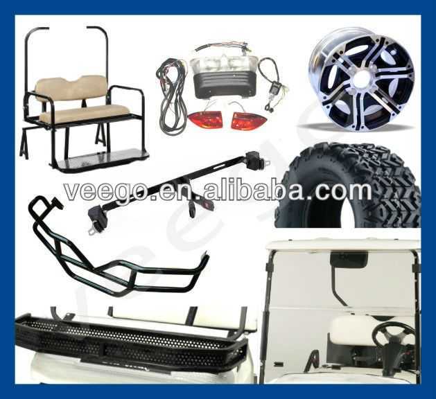 golf cart accessories for Ezgo, Clubcar, Yamaha golf cart models $1~$200