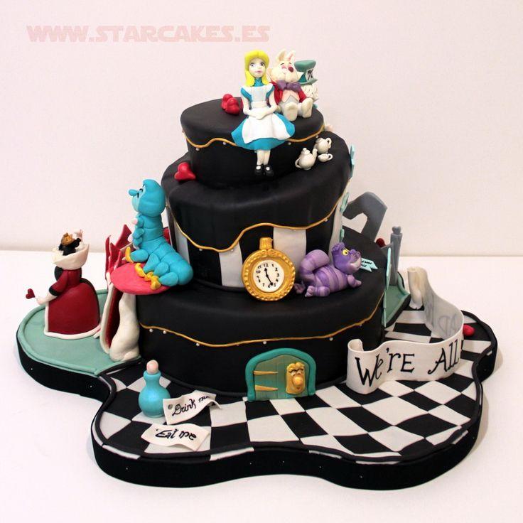 Southern Blue Celebrations: Alice In Wonderland Cakes