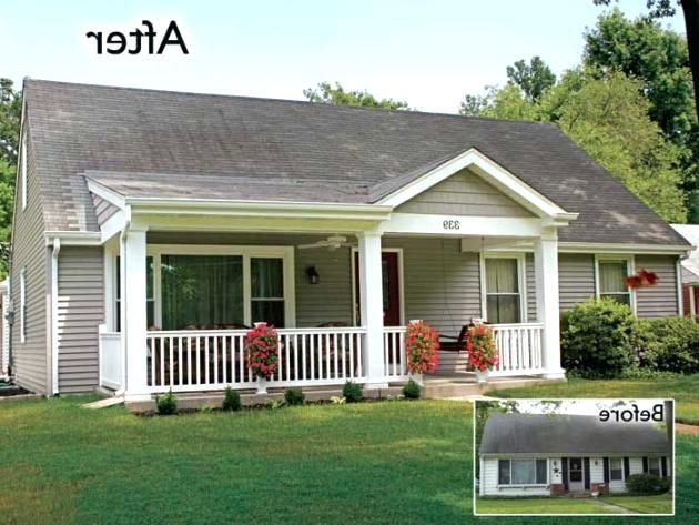 Add A Porch To A Ranch Style House Google Search Front Porch Addition Front Porch Design Porch Design