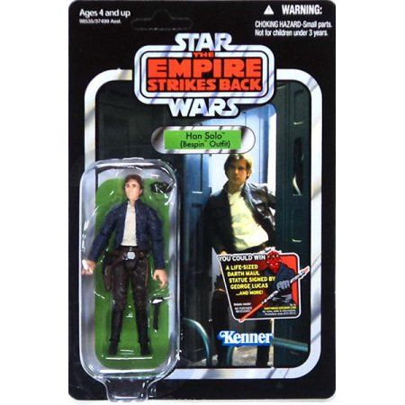 Star Wars Vintage Collection 2012 Han Solo Action Figure [Bespin Outfit], Multicolor